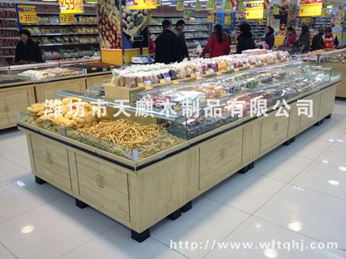 超市专业干果类商品货架007