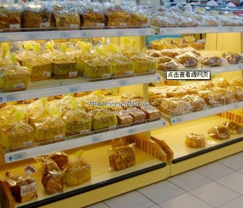 超市面包货架